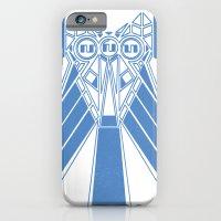 Power Wolf Blue iPhone 6 Slim Case