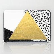 Rexa - Gold Abstract Min… iPad Case