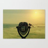 One Bird's Eye View Canvas Print