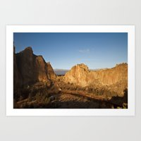 Smith Rock Sunrise II Art Print