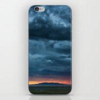 Salt Lake Sky iPhone & iPod Skin
