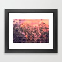 Geo nature Framed Art Print