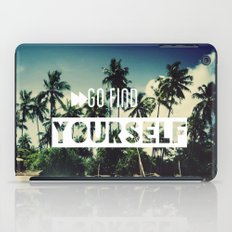Go find yourself iPad Case