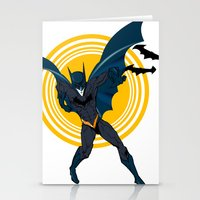 The Bat Dude Stationery Cards
