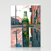 Urban Alley Refreshment Stationery Cards