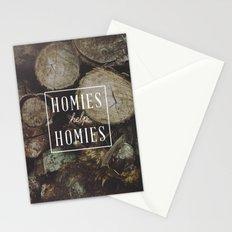 Homies Help Homies Stationery Cards