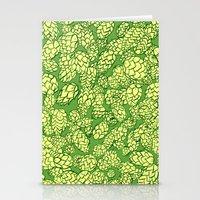 Floral Hops Stationery Cards
