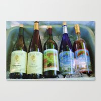vino time Canvas Print