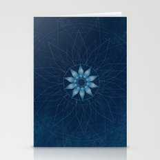 Crystal Flower Mandala Stationery Cards