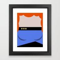 Dr. Beverly Crush Er - M… Framed Art Print