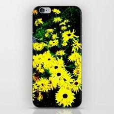 Yellow Flowers (Edited)  iPhone & iPod Skin