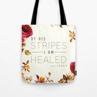 Isaiah 53:5 Tote Bag