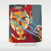 James Howlett Shower Curtain