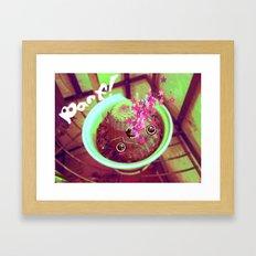 BARF! Framed Art Print