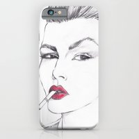 iPhone & iPod Case featuring RUBY by Rachel E Murray