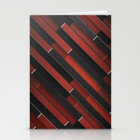 Maniac Pattern Stationery Cards
