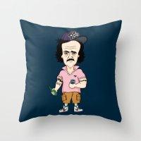 Edgar Allan Bro Throw Pillow