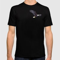 Flight Mens Fitted Tee Black SMALL