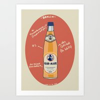 Club-Mate Art Print