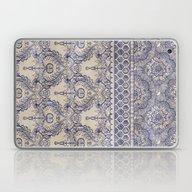 Vintage Wallpaper - Hand… Laptop & iPad Skin