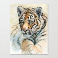 Tiger Cub 865 Canvas Print