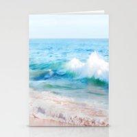 Aquamarine Dreams 1 Stationery Cards