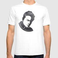 Leonardo DiCaprio Mens Fitted Tee White SMALL