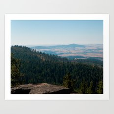Moscow Mountain Art Print