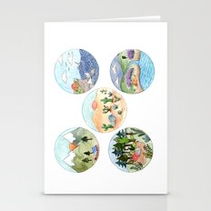 Campsite Selection Stationery Cards