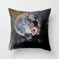 Antares Throw Pillow