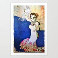 Flamenco Dancer Art Print