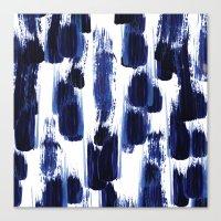 Blue mood Canvas Print
