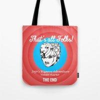 That all folks! Vento Aureo Tote Bag