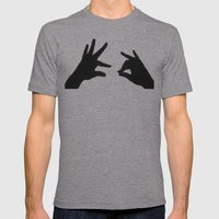 Did You Hear The One Abo… Mens Fitted Tee Athletic Grey SMALL