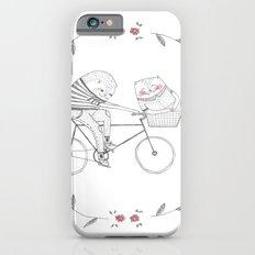 bicycle cat iPhone 6 Slim Case