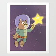 Star Shine Art Print