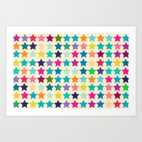 Star Lab Colors  Art Print