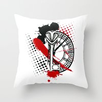 Timekeeper Throw Pillow