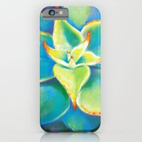 iPhone & iPod Case featuring Succulent  Flower by Nora Manapova