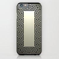 Greek Key black iPhone 6 Slim Case