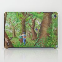 A Day of Forest (3). (Observe the tree) iPad Case