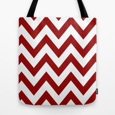 SOONER CHEVRON Tote Bag