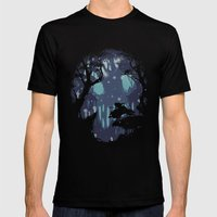 kodama Spirit Mens Fitted Tee Black SMALL