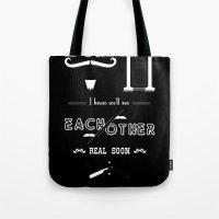 Dear M. Tote Bag