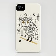 Hypno Owl iPhone (4, 4s) Slim Case