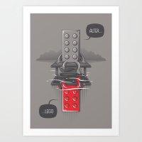 Alter LEGO Art Print