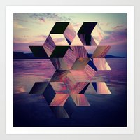 Remnants Of The Day Art Print
