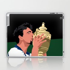 Goran Ivanisevic - Wimbledon trophy kiss Laptop & iPad Skin