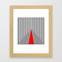 RGB3 Framed Art Print
