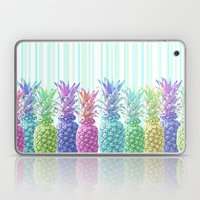 Pastel Jungle and Stripes Laptop & iPad Skin